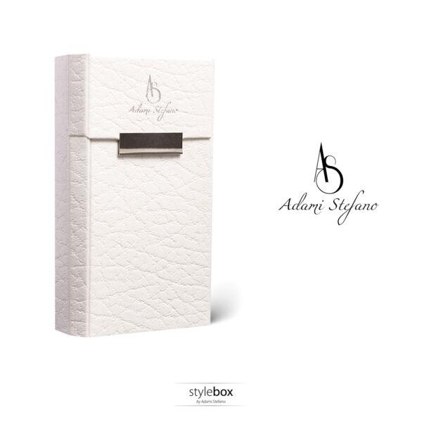 DAVIDOFF Leather white