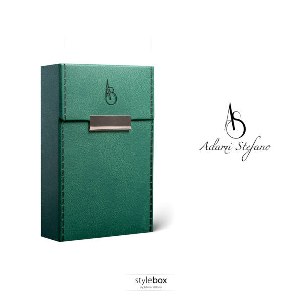 M Elegance british green stitched sides